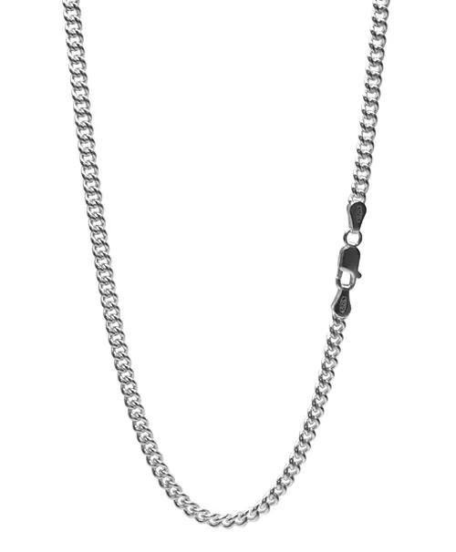 シルバー925 キヘイチェーン 喜平ネックレス 幅約3.5mm / 長さ45cm-50cm