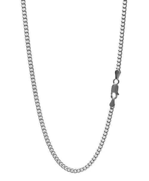 シルバー925 キヘイチェーン 喜平ネックレス 幅約2.7mm / 長さ45cm-50cm