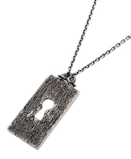 [Lilith / リリス] LN-06 Escape 鍵穴 リバーシブルプレート シルバーペンダントトップ