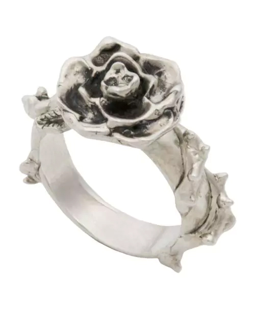 [Sons of TC / サンズ オブ ティーシー] Rg-09 Rose ring type-A 薔薇 シルバーリング