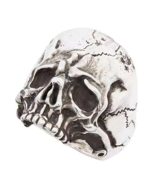 [Sons of TC / サンズ オブ ティーシー] Rg-19 SkullRing(Wt.ver) ヘビースカル シルバーリング